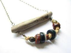 Beaded Driftwood Jewelry