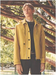 Dior Homme Presents Sporty Tailoring