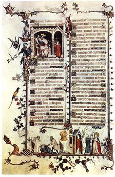 Belleville Breviary  1323-26  Illumination on parchment, 24,0 x 17,0 cm  Bibliothèque Nationale, Paris