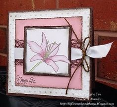 Annabelle Stamps Card