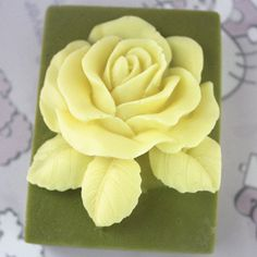 C233craft Art Silicone DIY Soap Molds Hamdmade Cake Moulds * Click image for more details.