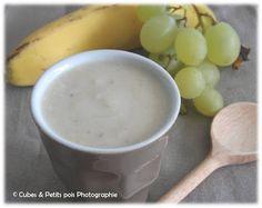 Compote Banane-Raisin Recette pour bébé dès 7 mois