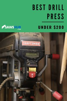 Find the best cheap drill press for the money with our tool review. When DIY woodworking, use this precision tool for accurate hole drilling. #sawshub #drillpress #DIYwoodworking #homeproject Diy Indoor Furniture, Pallet Furniture Plans, Diy Furniture Projects, Woodworking Projects Diy, Repurposed Furniture, Home Projects, Free Pallets, Wood Pallets, Homemade Tables