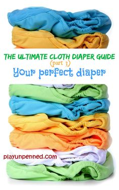 The Ultimate Cloth Diaper Guide: Part 2 - Myths about cloth diapers - play, unpenned Used Cloth Diapers, Your Perfect, Future Baby, Kids, Children, Play, Posts, Clothes, Diapering
