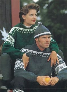 Dale Garn (formerly Dale of Norway)--Cortina (in Freestyle) Fair Isle Knitting, Knitting Yarn, Hand Knitting, Knitting Patterns, Weaving Patterns, Ski Sweater, Knit Sweaters, Norwegian Knitting, Knit In The Round