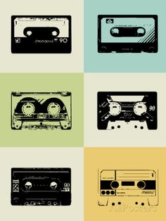 Mix Tape Poster Posters by NaxArt at AllPosters.com