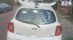 Nissan Micra Rear Screen Replacement - After