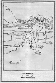 The Starfish, by Albert Wainwright Henry Moore, Wakefield, Cornelius, Erotic, This Book, Illustration, Starfish, Eye, Artists