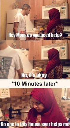 @Laura lol this reminds me of your mom for some reason lol she would say this