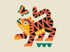 Draw Tigers Bengal doodle draw animal art animals tiger painting drawing illustration - A drawing for a future mini painting. Tiger Illustration, Graphic Design Illustration, Animal Illustrations, Doodle Drawings, Animal Drawings, Tiger Painting, Animal Graphic, Poster S, Mini Paintings