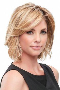 Mesdames Blonde qualité professionnelle coupe courte Blunt Bob frange perruque robe fantaisie
