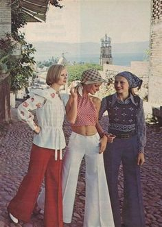 70's fashion- halter tops :/ remember? ;) At least they were easy to make.