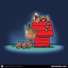 """Get """"Friends of the Galaxy"""" by JayHai today only, 03/08/15, for $11 at RIPT Apparel!"""