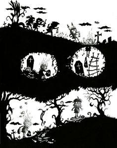 Guillaume Bianco   Page originale publiée dans Les fantômes  Editions Soleil, 2014