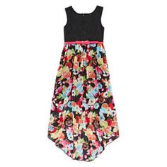 Disorderly Kids® Crochet Lace Floral Chiffon Dress - Girls 7-16  found at @JCPenney