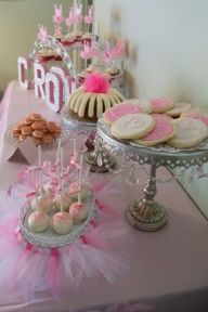 tutu themed birthday party - Google Search