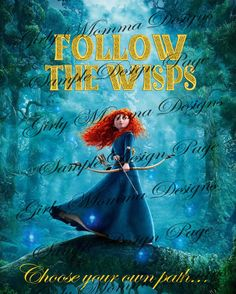 Brave Follow The Wisps Game Birthday Party by GirlyMommaDesigns, $3.00