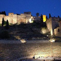 Teatro romano y alcazaba #malaga | Flickr - Photo Sharing!