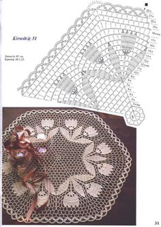 Photo from album Free Crochet Doily Patterns, Crochet Doily Diagram, Crochet Motifs, Thread Crochet, Filet Crochet, Irish Crochet, Crochet Shawl, Lace Doilies, Crochet Doilies