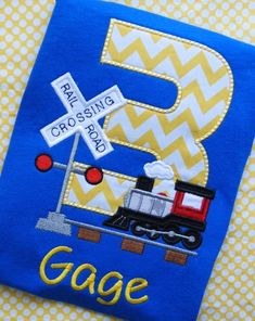 Train Birthday Shirt, Railroad Birthday Shirt, Train onesie, Boys Train Birthday, Girls Train Shirt