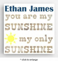 DETAILS: Our Personalized Kids Canvas Sign-Sunshine, is a perfect gift for your child to have in the