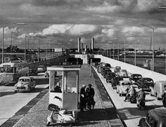 Velsertunnel Beverwijk (jaartal: 1950 tot 1960) - Foto's SERC