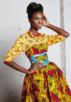 African fashion is available in a wide range of style and design. However, there is one strange thing among them all, they are all colorful. Whether it is men African fashion or women African fashion, you will notice. African Fashion Designers, African Inspired Fashion, African Print Fashion, Africa Fashion, Fashion Prints, African Prints, Tribal Fashion, Fashion Textiles, Ankara Fashion