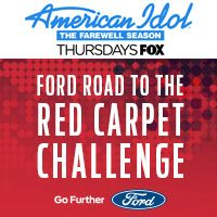 NO PURCH NEC. Must be 18+ and in US. Sweepstakes ends 5/15/16. Full Rules & Entry: www.americanidol.com/ford.