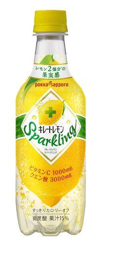 Amazon | ポッカサッポロ キレートレモン スパークリング 450ml×24本 | 炭酸飲料 通販