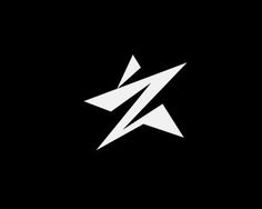 Z star Logo design - A star and in gegative space letter Z and a man Price $0.00