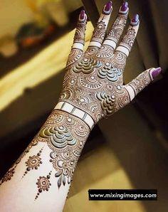 Khafif Mehndi Design, Floral Henna Designs, Back Hand Mehndi Designs, Latest Bridal Mehndi Designs, Mehndi Designs 2018, Mehndi Designs For Beginners, Mehndi Designs For Girls, Mehndi Design Photos, Wedding Mehndi Designs
