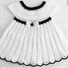 Crochet Baby Dresses 16952 crochet baby dress - My Pins - Crochet Baby Dresses 16952 crochet baby dress - Crochet Baby Dress Pattern, Baby Girl Crochet, Crochet Baby Clothes, Hand Crochet, Baby Girl Pink Dress, Crochet Wedding Dresses, Baby Dresses, Diy Kleidung, Diy Dress
