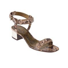 Lanvin women's chunky heel sandal