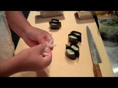 How To: Make Gunkan Sushi - This is one of my favorites with the quail egg on top.