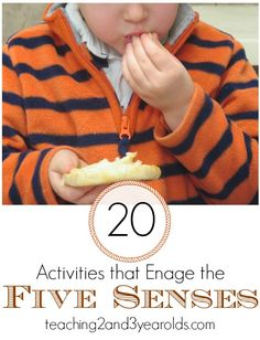 Kids Activities Using the Five Senses