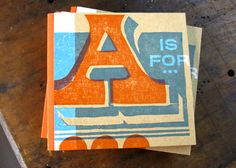A is for... AWESOME, indeed! Bold, gorgeous, fun book.