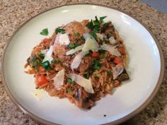 Italian Style Chicken and Rice - Michelle's Recipe Binder