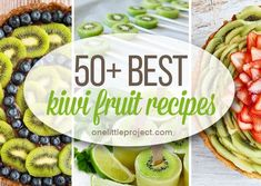 Desserts and Sweets Archives - Page 10 of 13 - One Little Project Kiwi Fruit Recipes, How To Make Diy, Sweets, Ethnic Recipes, Desserts, Projects, Food, Tailgate Desserts, Log Projects