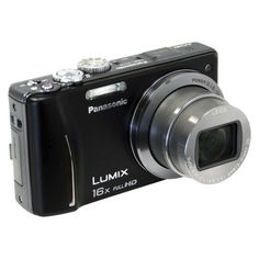 Panasonic Lumix 14.1MP Digital GPS Camera with 16x Optical Zoom - Black