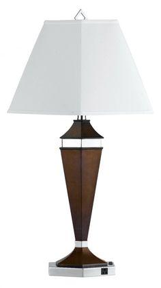 CAL Lighting LA-694TB-1R Table Lamp