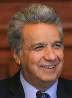 LENÍN MORENO. Presidente de Ecuador (mayo 2017 - )