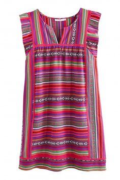 Asigia Woven Cotton Shift Dress   | Calypso St. Barth