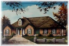 Ranch House Plan 60257 Elevation