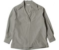 MARGARET HOWELL - SOFT POLO SHIRT - SHIRTS - WOMEN