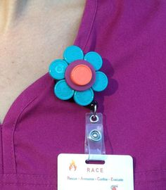 badge holder - could do with buttons