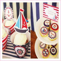 Life Idea: Μπλε - Λευκό - Κόκκινο για να είναι το πιο trendy πάρτυ του καλοκαιριού !