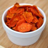 Carrot Chips Recipe (I love broccoli this way, these might be good!)