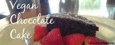 Vegan Chocolate Recipe Vegan Chocolate, Chocolate Recipes, Chocolate Cake, Coffee Break, Desserts, Food, Chicolate Cake, Tailgate Desserts, Chocolate Cobbler