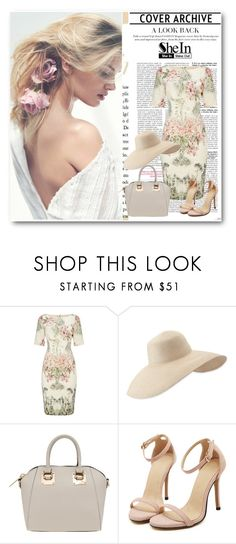 """""""SheIn 2/I"""" by nermina-okanovic ❤ liked on Polyvore featuring Adrianna Papell, Eric Javits and shein"""