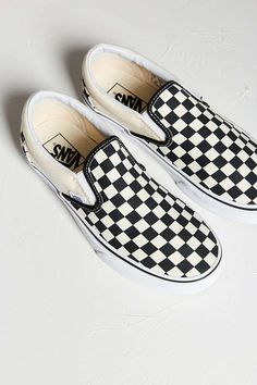 Vans Checkered Slip-On Sneaker - Urban Outfitters